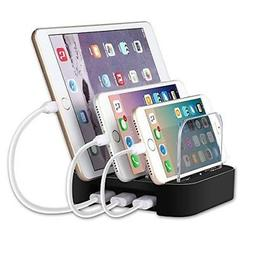 CHOETECH QI Wireless Charger 3 coil mounting USB cable inclu