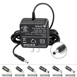 TAIFU 15V DC 3A  5.5 x 2.1mm AC Adapter Wall Charger with 6