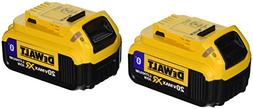 DEWALT DCB204BT-2 20V MAX 4Ah Compact Battery with Blue Toot