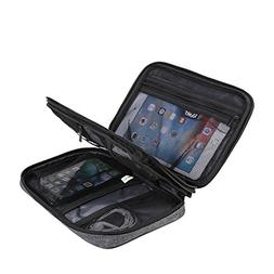TOURIT Double Layer Electronics Accessories Organizer Bag Po