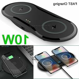 Dual/Single Wireless Charger Fast Charging Pad For Samsung S