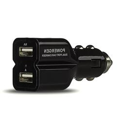 PowerGen 4.2Amps / 20W Dual USB Car charger Designed for App