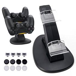 Opard DualShock 4 Charging Station for Sony PlayStation 4/PS