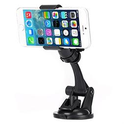 Easy One Hand Operation Car Mount Dash Windshield Holder for
