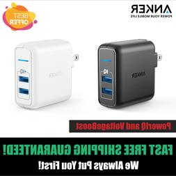 Anker Elite USB Charger Dual Port 24W Wall Charger PowerPort
