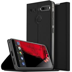 Essential phone case, KuGi ultra-thin DD style PU Cover + TP