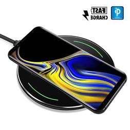F Samsung Note 9  Qi Wireless Fast Charger Charging Pad Spec