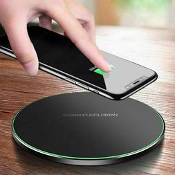 FAST Qi 10W WIRELESS PHONE CHARGER FOR iPHONE X 8 PLUS XR XS