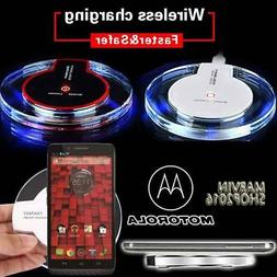 Fast Qi Wireless Charger Charging Dock Pad For Motorola Droi