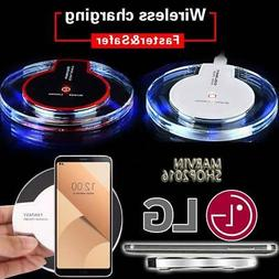 Fast Qi Wireless Charger Charging Dock Pad For LG G2 G3 G4 G