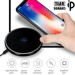 Seneo Fast Qi Wireless Charger Charging Pad for Samsung Gala