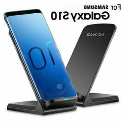 fast qi wireless charger stand dock pad