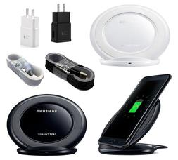 Fast Qi Wireless Charger Stand Dock Pad For Samsung Galaxy S
