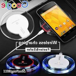 Fast Qi Wireless Phone Charger Charging Dock Pad For Google