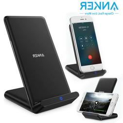 Anker Wireless Charger PowerWave Stand Qi-Certified for iPho