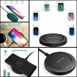 Fast Wireless Charger RAVPower 7.5W Compatible iPhone 11 Pro
