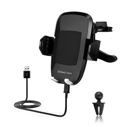 Fast Wireless Charger Car Mount,Yayale Universal Charging fo