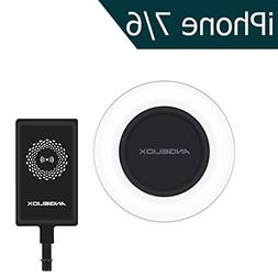 ANGELIOX Fast Wireless Charger Charging Pad with Qi iPhone W