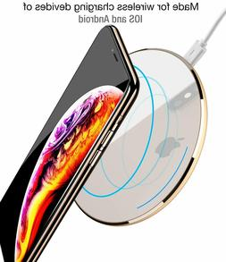 Fast Wireless Charger TOZO   Charging Pad for iPhone & Samsu