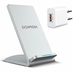 Fast Wireless Charger Stand Dock Qi Certified For iPhone 11