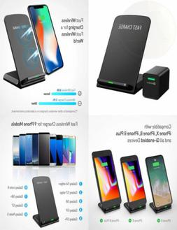 Fast Wireless Charger Stand With Quick Charge 3.0 For Galaxy