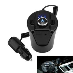 FM Transmitter Wireless Cup Bluetooth4.2 Car Radio Adapter H