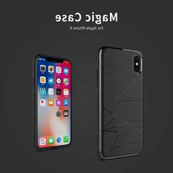 Genuine NILLKIN QI Wireless Charger Magnetic Back Case Cover