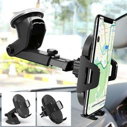 Gravity Car Mount Qi Wireless Charger Charge Pad Mobile Phon