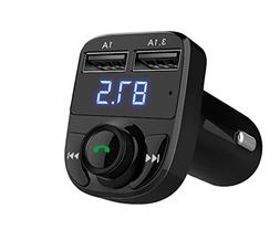 Handsfree Call Car Charger,Wireless Bluetooth FM Transmitter