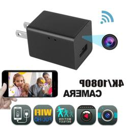 Mini Charger Spy Camera 1080P Full HD Camcorder Hidden DVR W
