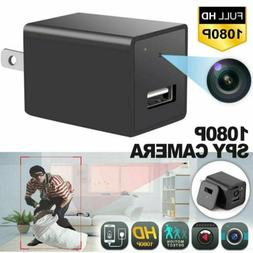 HD 1080P Spy Hidden Camera Wall Charger Adapter Security Mon