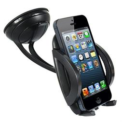 Heavy Duty Easy Mount Car Holder Dash Windshield Dock for Sa