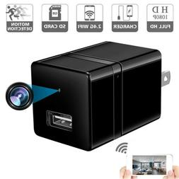 Hidden Camera WiFi Wireless 1080P HD Motion Detection USB Wa