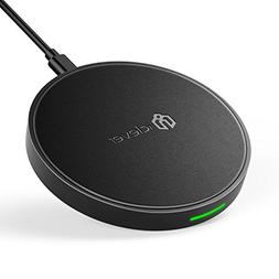 iClever Fast Wireless Charger Qi Certified Charging Pad, 10W