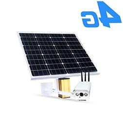 Industrial Pro 4G Solar Wireless Security Bullet Camera Outd