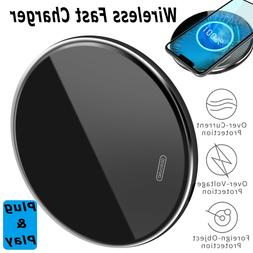 For iPhone 12 Pro Max 15W Qi Wireless Fast Charger Charging
