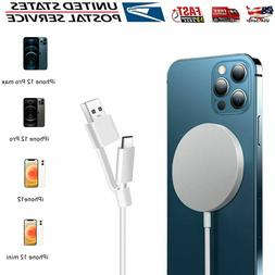 For iPhone 12 Pro Max MagSafe Wireless Charger Magnetic Fast