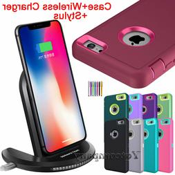 iPhone 6s 7 8 Plus XR XS Max X Case Cover Shockproof Hard +