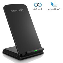 For iphone 8 Sumsang Seneo Qi Wireless Fast Wireless Chargin
