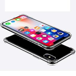 iPhone X Case,iPhone 10 Case,iBarbe TPU Crystal Clear Ultra