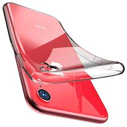 TOZO for iPhone XR Case 6.1 Inch  Premium Clear Soft TPU Gel