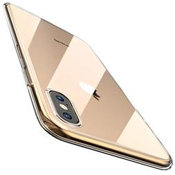 TOZO for iPhone Xs Max Case 6.5 Inch  Premium Clear Soft TPU