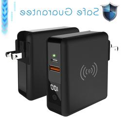 For iPhone XR/XS Max 8000mAh Travel Charger Portable Power B
