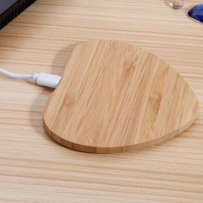 1 PC Charger Slim Wood Pad Charging Mat