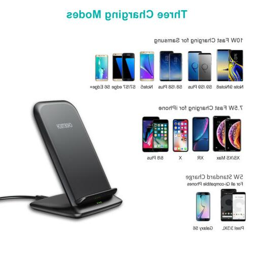 CHOETECH 10W Wireless Charger Stand