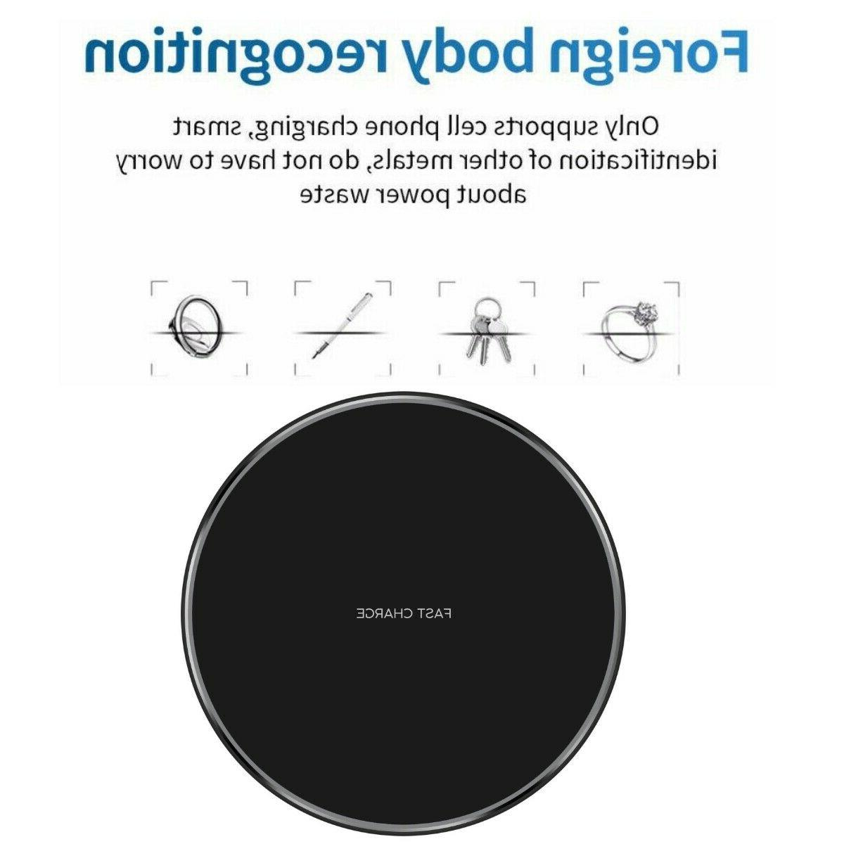 10W Qi Charger Charging Pad for 11 Pro Max 8 10