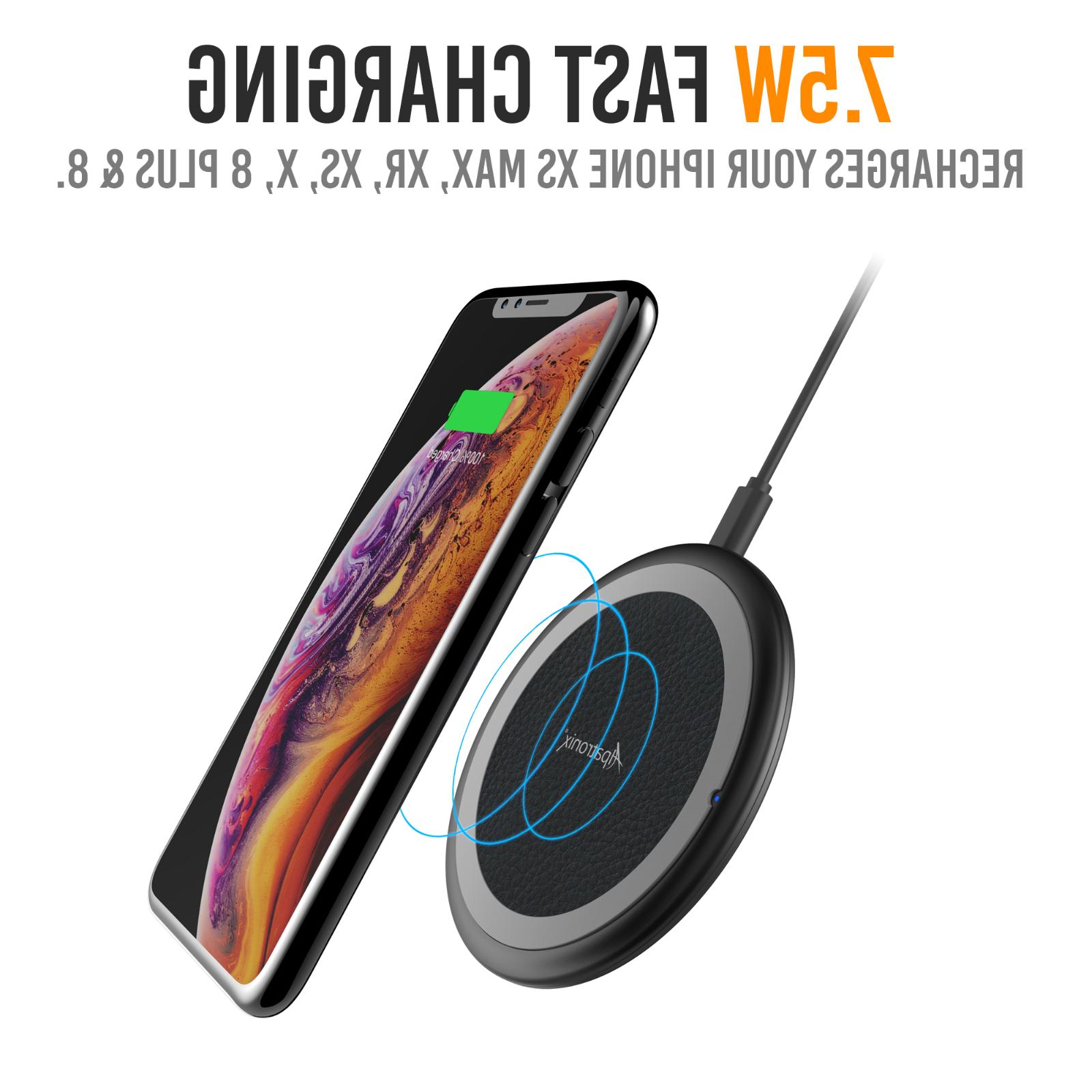 Qi Wireless Charger Charging Dock iPhone XR Galaxy