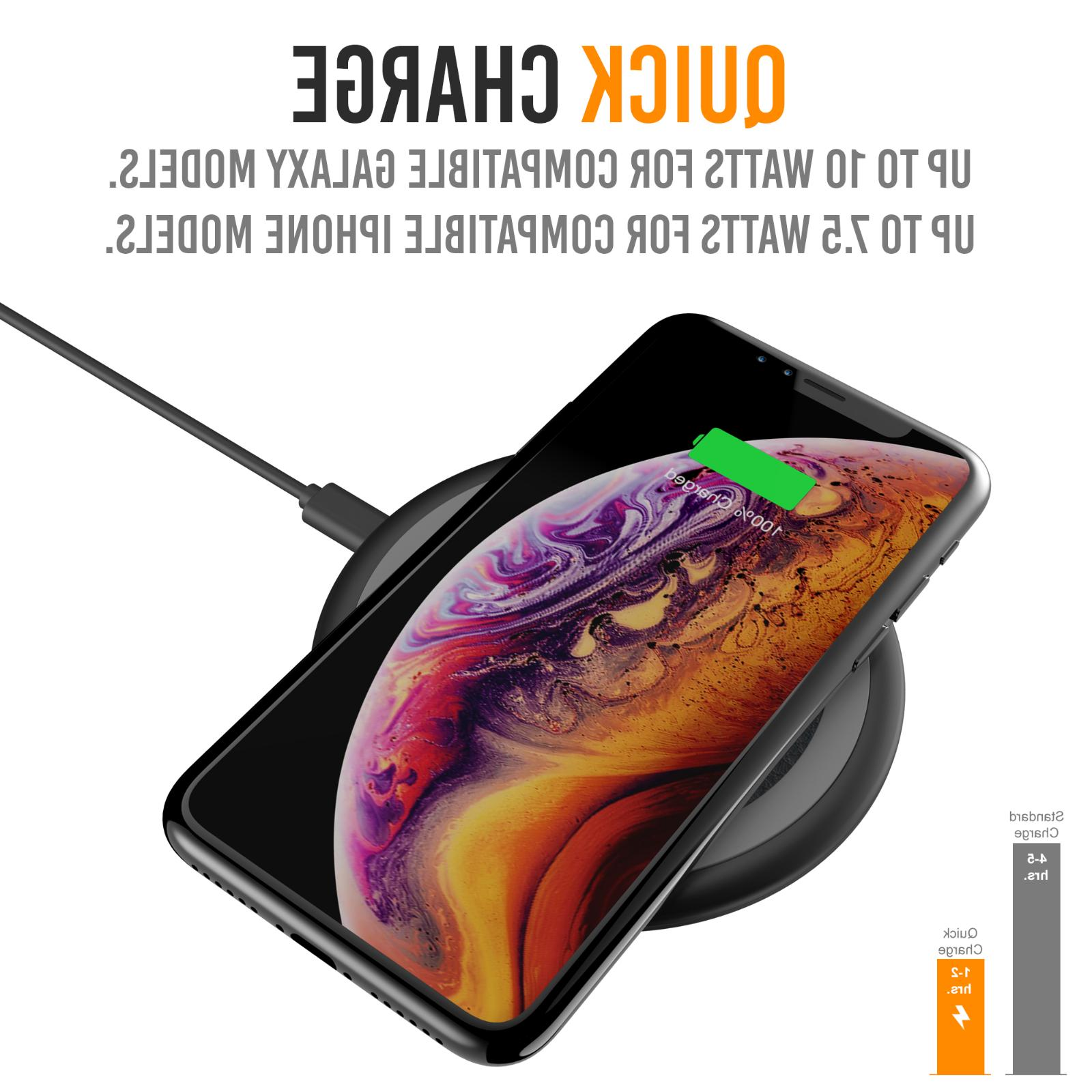 Qi Wireless iPhone XS Max XR S10