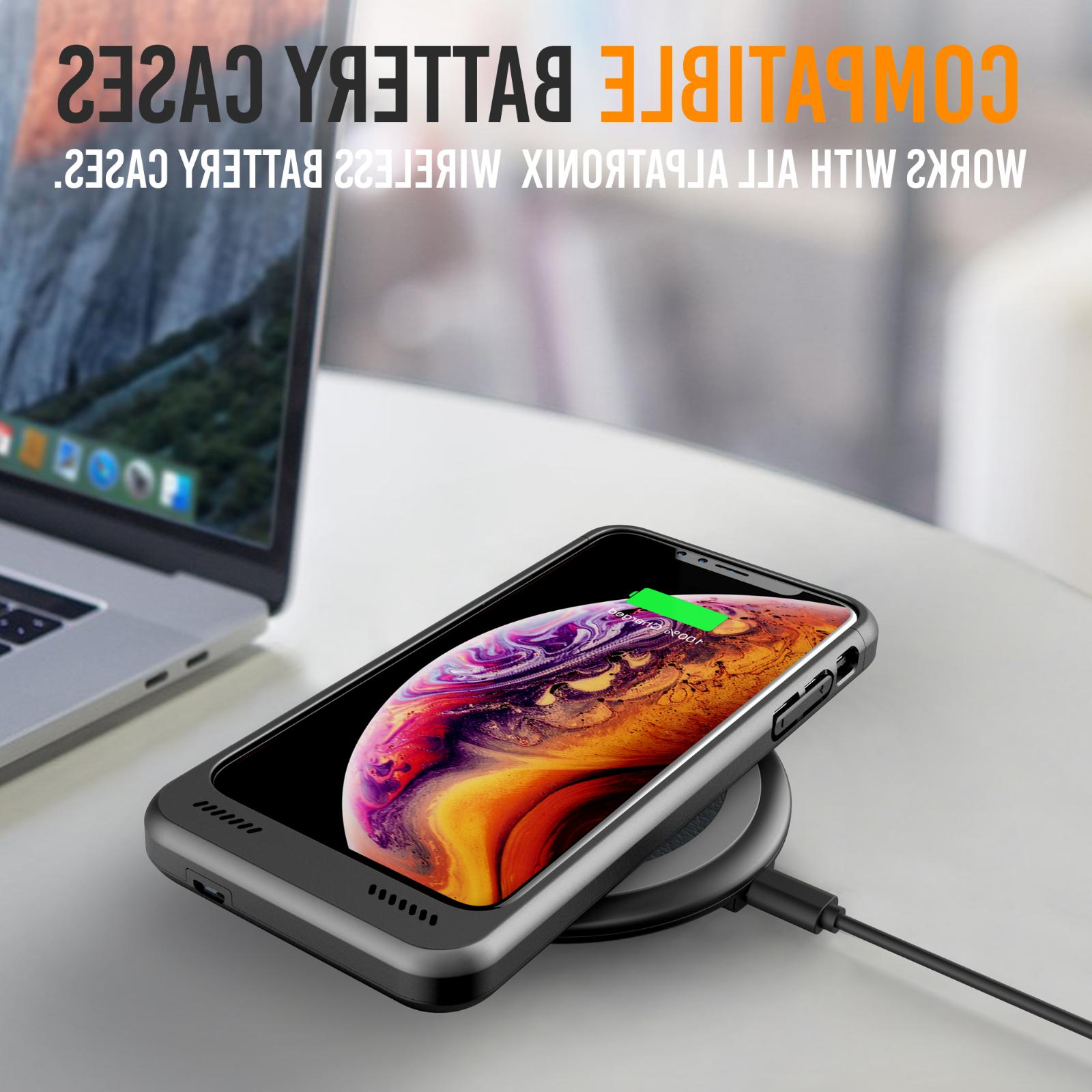 Qi Wireless Charger Charging Dock iPhone XS Max XR Galaxy S10