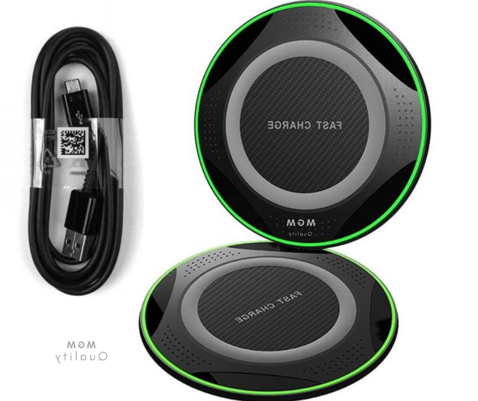 10w qi wireless charger pad charging dock